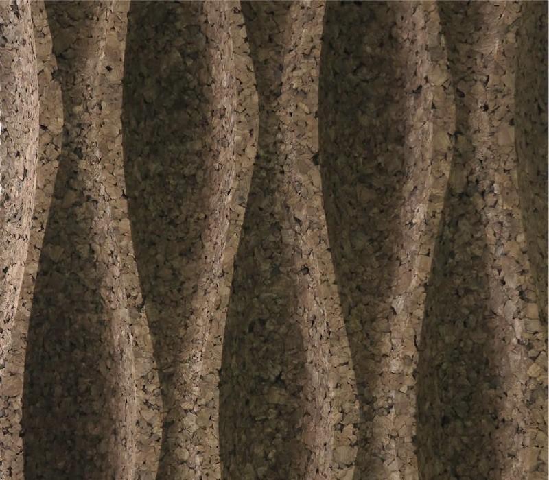 Pluta Expandata Decorativa 3D Wave L2