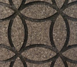 Pluta Expandata Decorativa 3D Circles M1