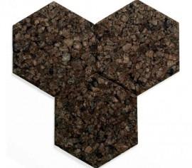 Placi Decorative Autoadezive Hexagon Pluta Expandata