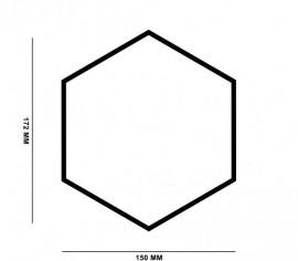 Hexagoane Autoadezive Pluta Aglomerata