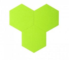Hexagoane Autoadezive FELT Green