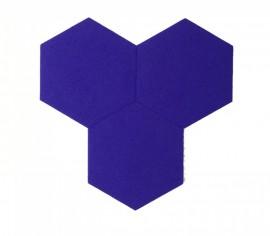 Hexagoane Autoadezive FELT Violet