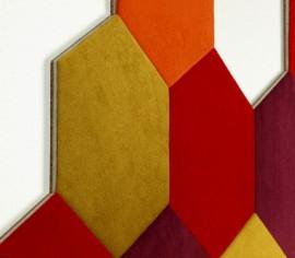 Hexagoane Autoadezive Textil