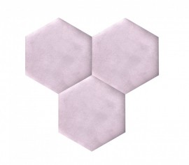 Hexagoane Autoadezive TEXTIL Light Violet